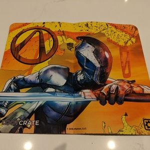 Loot Crate Borderlands Zer0 gaming mat / mouse pad